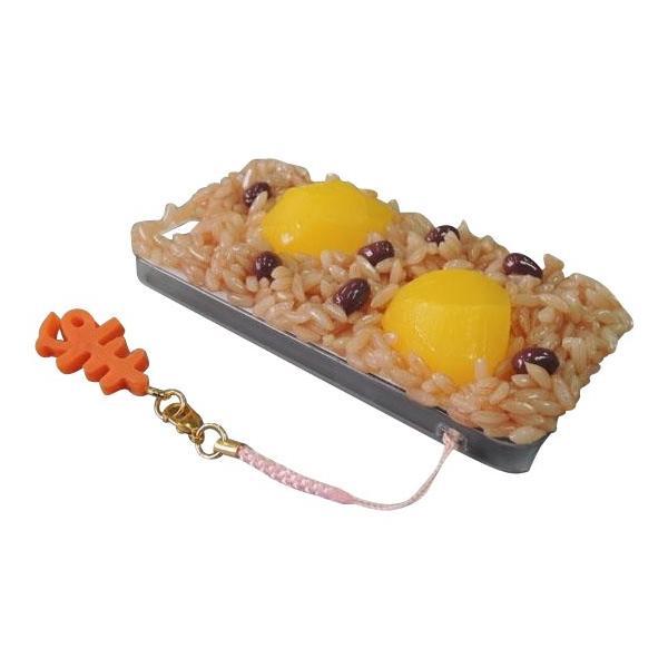 日本職人が作る  食品サンプルiPhone5ケース 赤飯  ストラップ付き  IP-222 ulmax