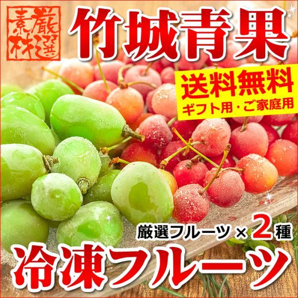 【あすつく対応/出荷中】冷凍さくらんぼ 佐藤錦&シャインマスカット