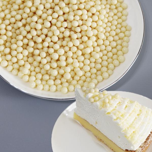 シリアル チョコレート ホワイト3Kg(100g×30)パフチョコ 小麦クランチパフ 耐水性 生クリーム混合OK トッピング業務用 大容量 メーカー直送品