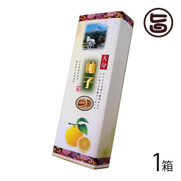 大分柚子あん巻 細箱×1箱 イソップ製菓 熊本 土産 熊本土産 条件付き送料無料