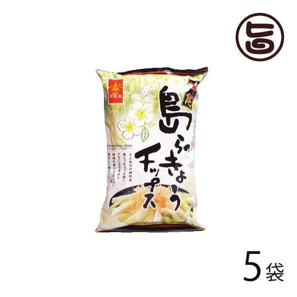 島らっきょうチップス 60g×5袋 南風堂 沖縄 人気 定番 土産 菓子 ご自宅用に お土産用に 条件付き送料無料