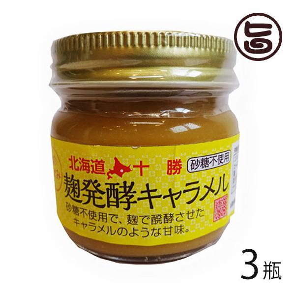 麹のめぐみ 麹発酵 キャラメル 80g×3瓶 渋谷醸造 砂糖不使用 条件付き送料無料