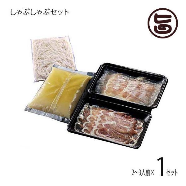 黒さつま鶏しゃぶしゃぶセット 2〜3人前セット(麺付き) 鹿児島 地鶏 しゃぶしゃぶ 鶏肉 鳥肉 鍋 ギフト 贈答 プレゼント  条件付き送料無料