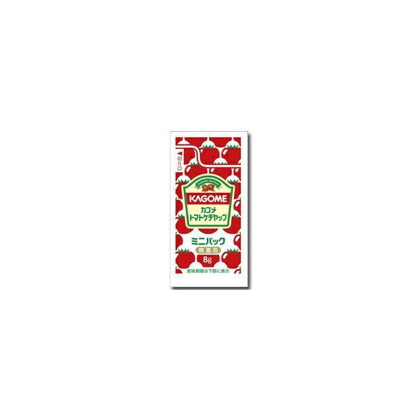 【送料無料】カゴメ トマトケチャップミニパック(8g×40個)×1ケース(全15本)