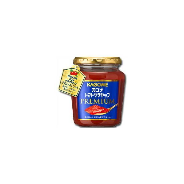 【送料無料】カゴメ トマトケチャッププレミアム260g×2ケース(全12本)