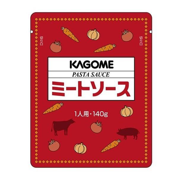 【送料無料】カゴメ ミートソース140gパウチ×2ケース(全120本)