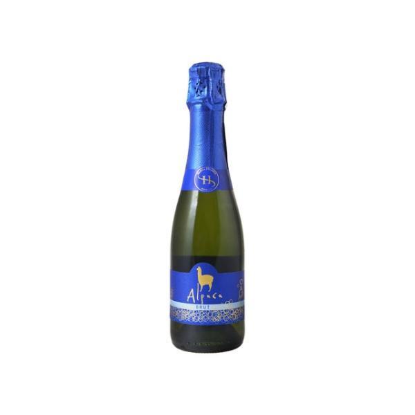 アルパカ・スパークリング・ブリュットのボトル