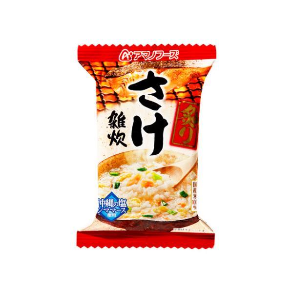 うまい村デイリー アマノフーズ 炙りさけ雑炊 1食 21.8g x6 umaimura