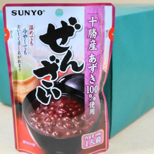 サンヨー堂 ぜんざい レトルト 十勝産小豆100%使用 温めても冷やしてもOK 160g×10パック入り 包装無料サービス対応品