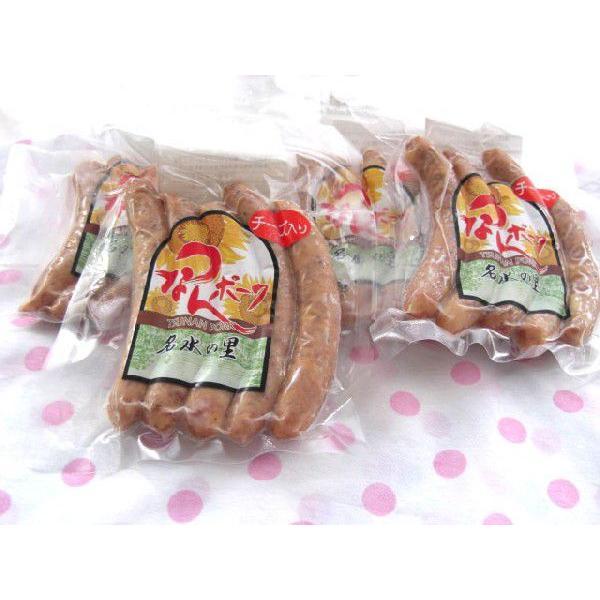 ウインナーチーズ5本×6袋 (冷凍にて配送) 送料無料   つあんポーク  手作り