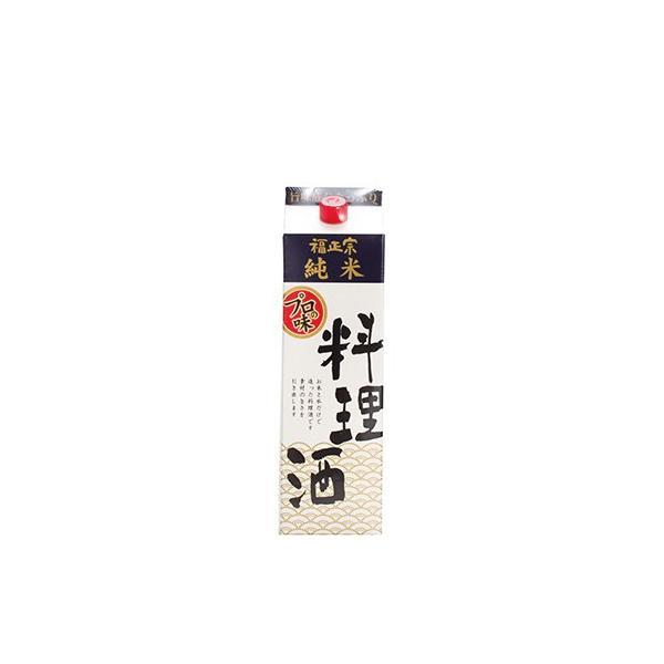 福光屋 福正宗 純米 料理酒 紙パック1800ml