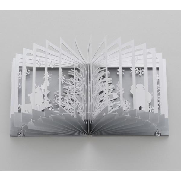 360°BOOK 雪降る森 著者:大野友資 青幻舎|umd-tsutayabooks|04