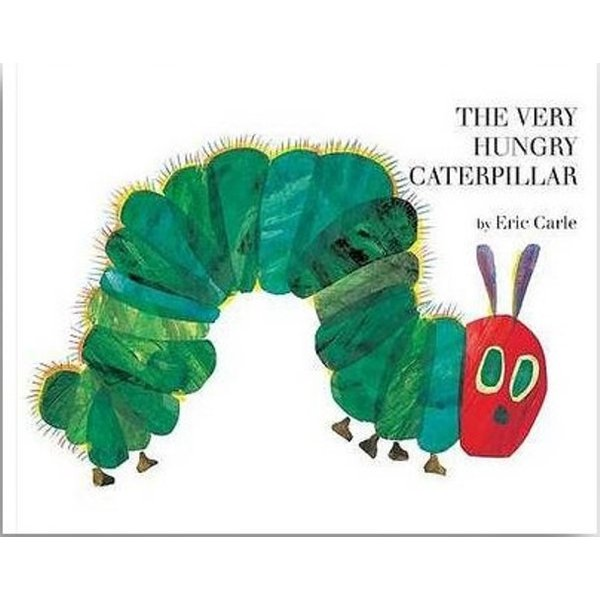 The Very Hungry Caterpillar by Eric Carle|umd-tsutayabooks|01