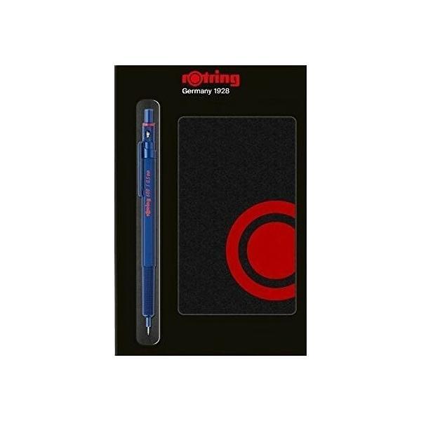【7月25日(日)までポイント5倍】【ギフトにもおすすめ】rotring ロットリング シャープペンシル RO600 0.5mm ブルー ギフトセット
