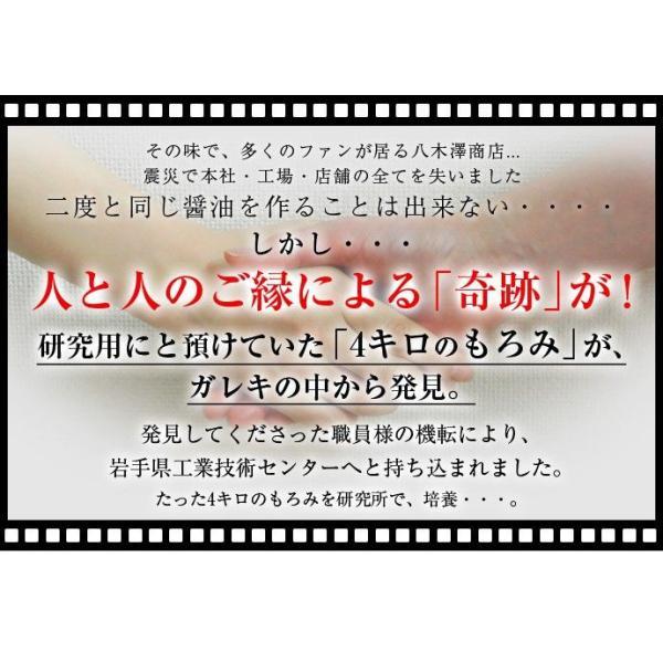 しょうゆ 醤油 調味料 八木澤商店  奇跡の醤 (ひしお) 500ml×2本 ギフト 常温 umeebeccyasannriku 04