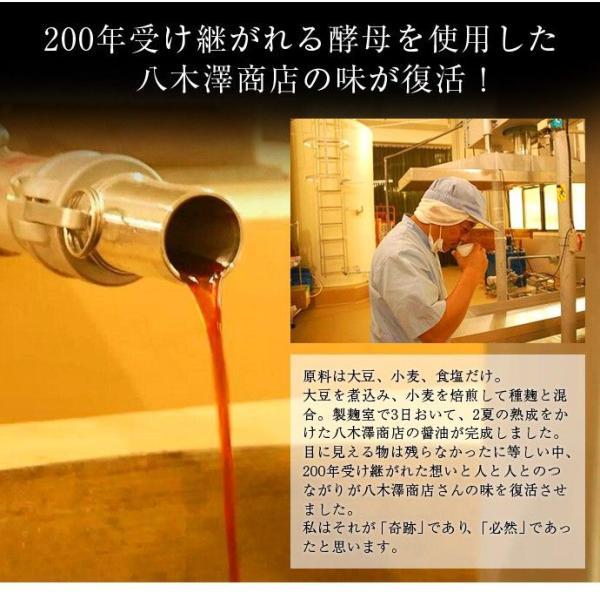 しょうゆ 醤油 調味料 八木澤商店  奇跡の醤 (ひしお) 500ml×2本 ギフト 常温 umeebeccyasannriku 06