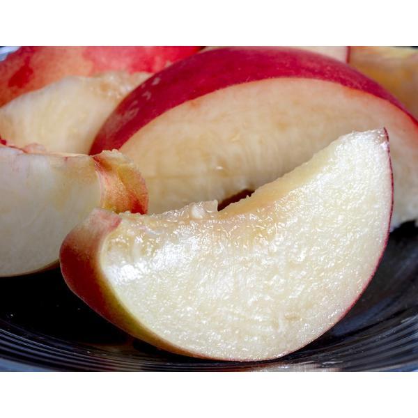 山梨県産 糖度13度以上 雨宮 融さんの「てっぺんの桃」 品種 川中島白桃 大玉 約2kg(5〜6玉) 常温 産地直送 送料無料 もも モモ ギフト 贈答 贈り物|umeebeccyasannriku|15