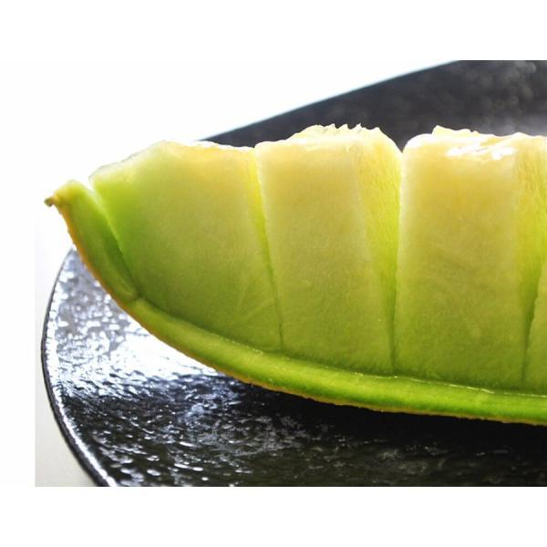 青森県産 つがりあんメロン アムさん 秀品 2玉 (1玉 約1.3kg) 送料無料|umeebeccyasannriku|11