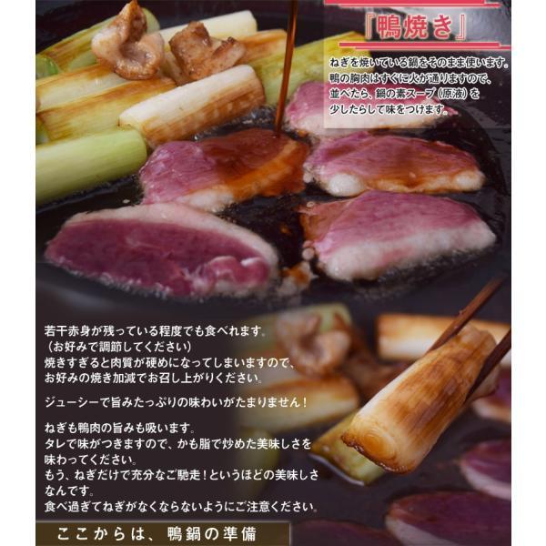 ギフト お歳暮 かも 鴨 カモ 愛知県産 あいち鴨鍋セット 3〜4人前(鴨胸肉70g×4P、つくね10個、ガラミンチ500g、鍋専用タレ200g、おまけで鴨脂)冷凍|umeebeccyasannriku|05