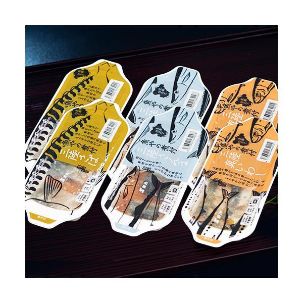 『保存料・化学調味料不使用 三陸 魚やの煮付3種セット(真いわし・さば・さんま)』宮城県産 各種2パック (1パック90g) ※常温
