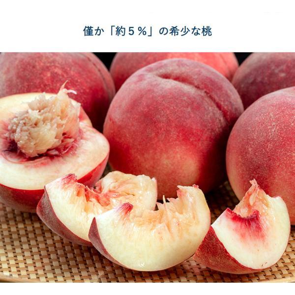 桃 果物 もも 詰め合わせ 福島県産 伊達の桃 蜜姫 みつひめ 約2kg 6〜8玉 送料無料 産地直送|umeebeccyasannriku|02