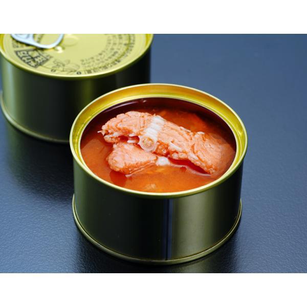 『海峡サーモン使用 鮭の中骨缶(水煮)』180g×3缶 簡易包装 ※常温 送料無料 umeebeccyasannriku