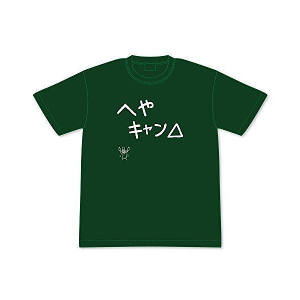 ゆるキャン△ へやキャン△ 黒板文字TシャツM