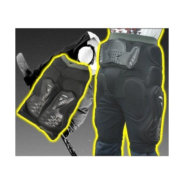 ヒッププロテクター スノーボード スノボ バイク インナー 各サイズ ウミネコ 衝撃吸収PVC&EVA 尻 腰 5点保護 メンズ 女 初心者 ケツパッド|umineko-shoji