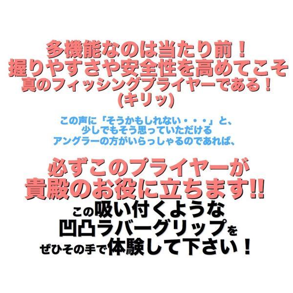 プライヤー 4点セット 武蔵 5WAY多機能 釣り フィッシング ラジオペンチ フィッシュグリップ タングステンPEラインカッター付 ケース ホルダー グレー umineko-shoji 10