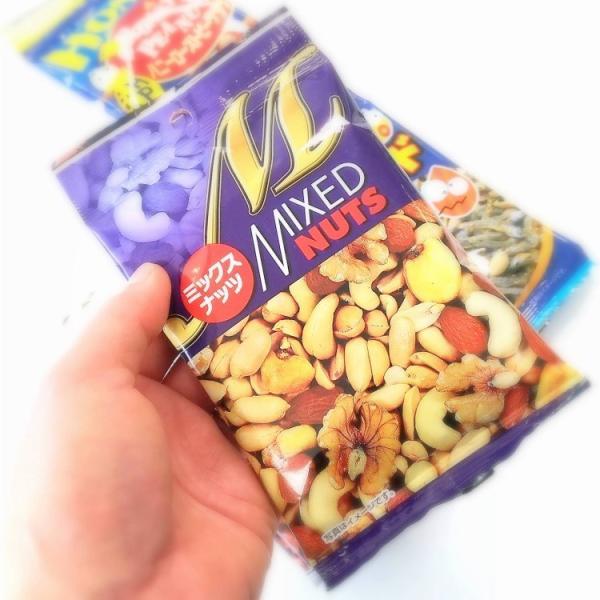 ミックスナッツ1箱144個 箱売り まとめ買い 徳用 落花生 カシューナッツ ジャイアントコーン アーモンド