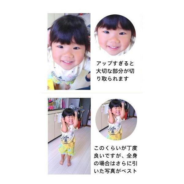 プリント南部大判せんべい22センチ印刷・かに味4枚セット(オリジナル オーダーメイド) uminekotayori 05