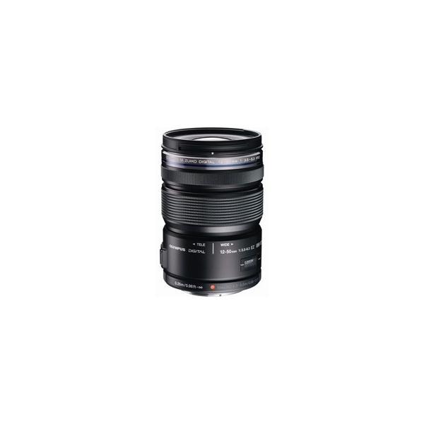 【新品・国内正規品・在庫あり】OLYMPUS/オリンパス M.ZUIKO DIGITAL ED 12-50mm F3.5-6.3 EZ(ブラック)