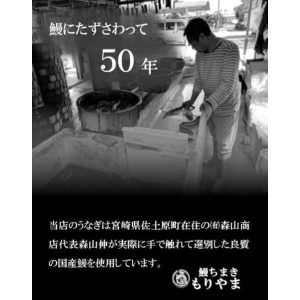 送料無料!「うなぎ屋が創ったうなぎちまき」8個セット!750g!|unagimoriyama|05
