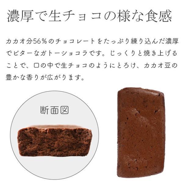 チョコレートケーキ スイーツ 大容量箱買い 送料無料 濃厚なガトーショコラ 20個入り 個包装|uncerise-cyokubai|04