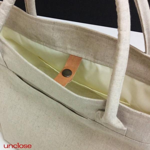 手作りキット/ハーフリネンキャンバスで作るプレミアムトートバッグ|unclose|02