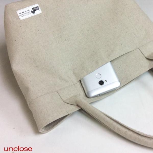 手作りキット/ハーフリネンキャンバスで作るプレミアムトートバッグ|unclose|03