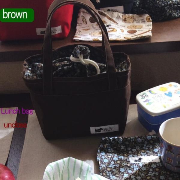 手作りキット/帆布×プリントで作る巾着ランチバッグセット|unclose|08