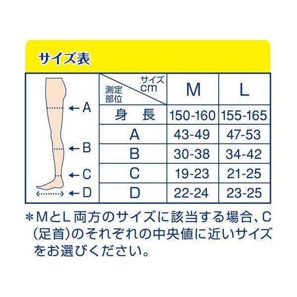 寝ながらメディキュット ロング Mサイズ ラベンダー 着圧 スリム 美脚 加圧 4906156600452 under100s 04