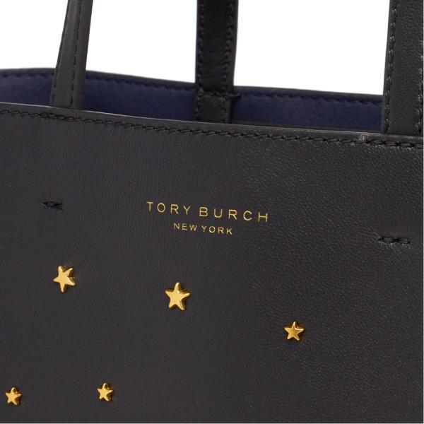 トリーバーチ トートバッグ STAR STUD SMALL TOTE スター スタッド スモール 51081 レディース 2019SS BLACK 001 Tory Burch