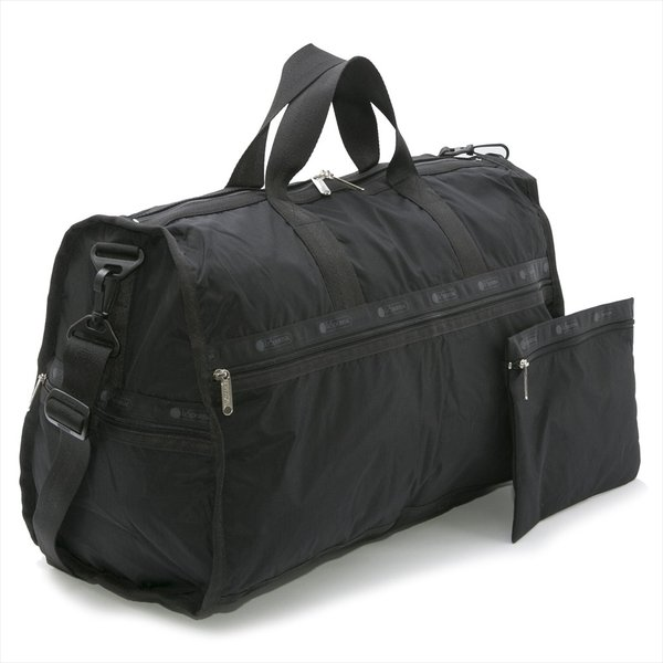 Lesportsac Large Weekender Black Hint Of Spring ボストン バッグ