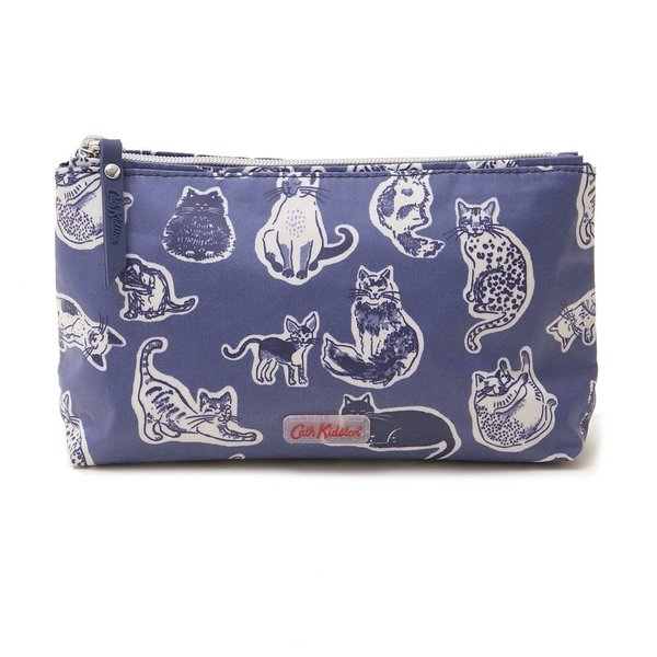 Sea of Whales Wallet//Wristlet in Nylon