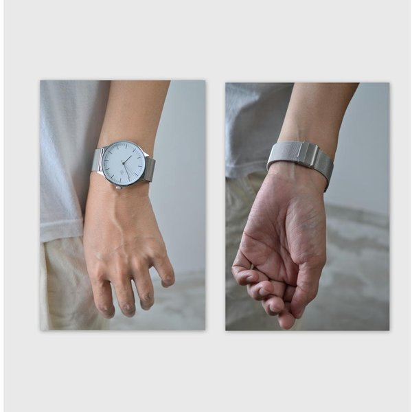 f31a536455 ... Cheapo チーポ メッシュベルト クオーツ 腕時計 北欧 NANDO LEGACY メンズ レディース ユニセックス 男性 女性 ...
