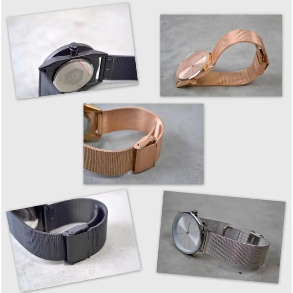 0cc3d0a543 ... Cheapo チーポ メッシュベルト クオーツ 腕時計 北欧 RAWIYA 14234 メンズ レディース ユニセックス 男性 女性 ...