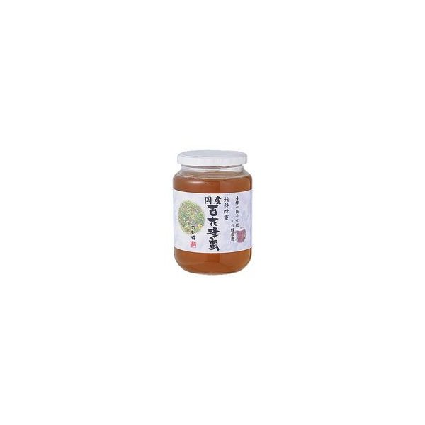 国産 百花蜂蜜 1kg/かの蜂はちみつ