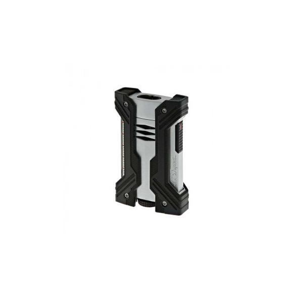 S.T.Dupont エス・テー・デュポン ライター デフィ ダブルエクストリーム クローム&ブラック 021602
