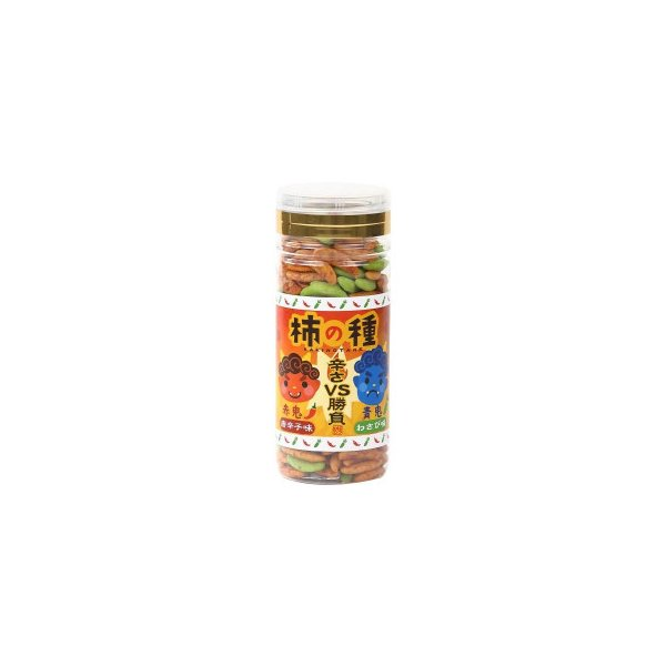柿の種 赤鬼・青鬼 (唐辛子味・わさび味) 110g×42個