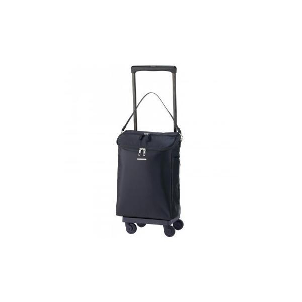 SWANY スワニー キャリーバッグ D-428 ジップV (L21) ブラック (4輪ストッパー付) 42890