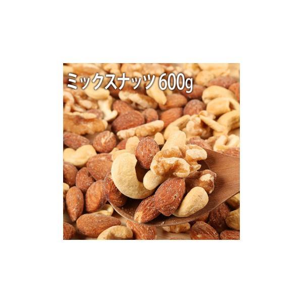 世界の珍味 おつまみ SC素煎ミックスナッツ 大 600g×10袋