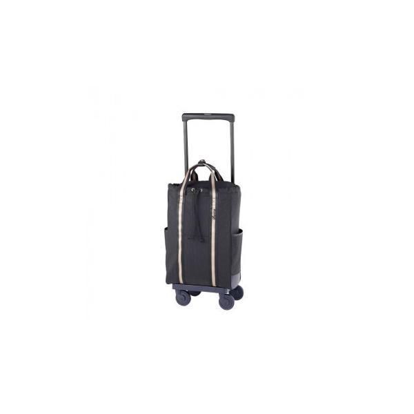 SWANY スワニー キャリーバッグ D-485 ラーヴ (L21) ブラック (4輪ストッパー付) 48590