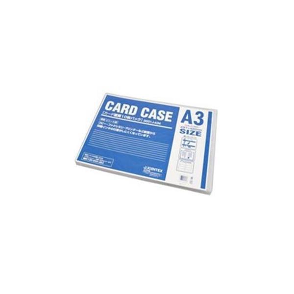 (まとめ)ジョインテックス カードケース硬質A3*10枚 D031J-A34〔×2セット〕〔沖縄離島発送不可〕